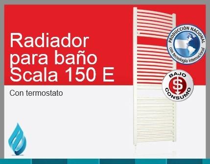 toallero eléctrico peisa scala 150