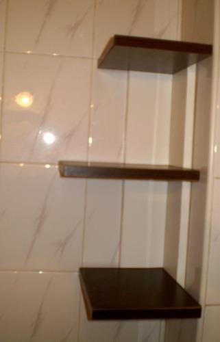 toallero esquinero vanitory accesorio, mueble baño