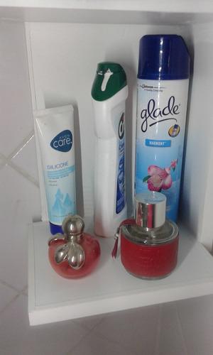 toallero melamina, organizador de baño, mueble baño, toallas