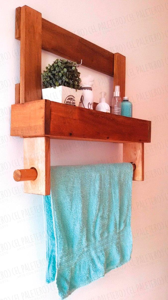 Hermoso toalleros de madera para ba o fotos accesorios de - Accesorios bano madera ...