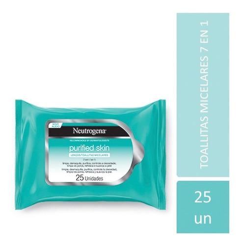 toallitas desmaquillantes neutrogena purified  - neutrogena