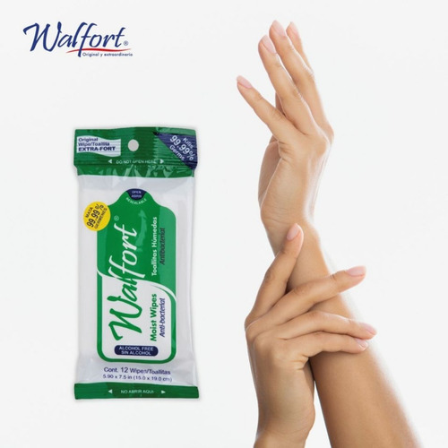 toallitas húmedas antibacterial sensitive verde - 5 paq.