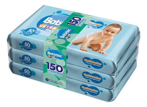 toallitas húmedas babysec ultra x150