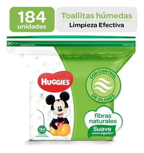 toallitas húmedas huggies active fresh 184 unid