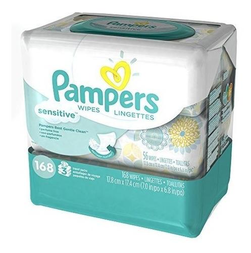 toallitas y recambios,pampers sensitive toallitas para b..