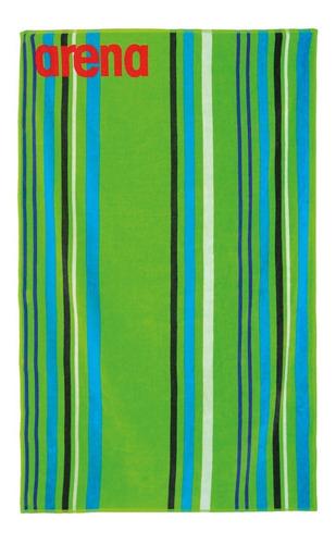 toallón arena big multistripes algodón 150x100 cm natación
