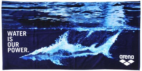 toallón arena manifesto algodón 150 x 75cm natación playa