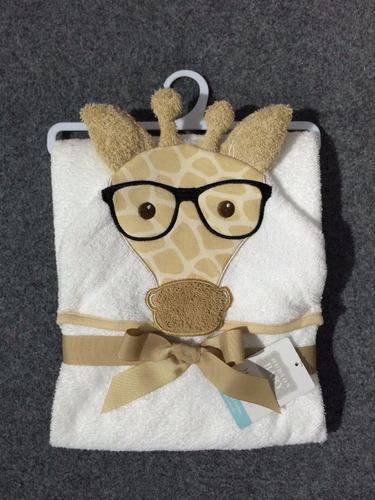 toallón con capucha bebe