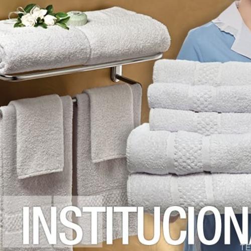 toallon hotelero seclar blanco 550 gr - mayorista