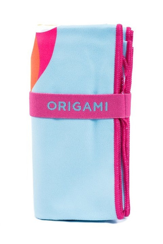 toallon microfibra origami unicornio