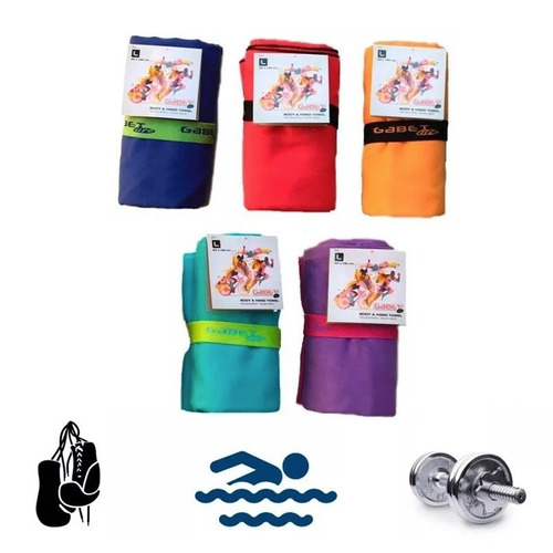 toallon microfibra secado rapido deportivo liviano gabet
