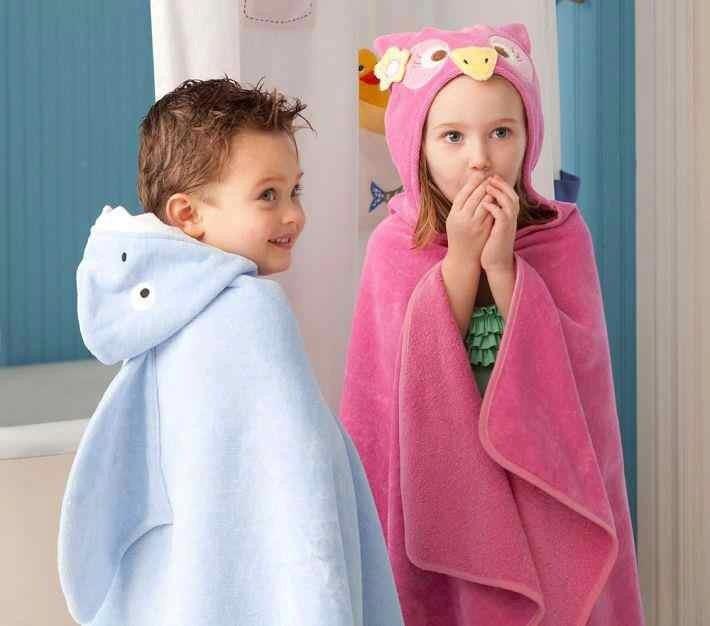 toallon o bata para bebes y nios modelos animales
