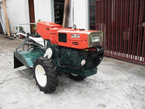 tobatta m140  de 14cv  -diesel c/enxada  c/garantia total