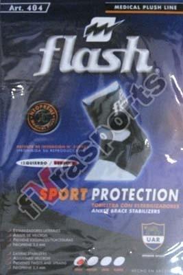 tobillera de neoprene con estabilizadores flash - fivra
