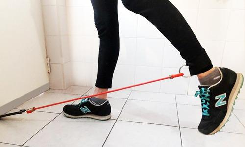 tobillera elástica para gimnasia, glúteos, piernas
