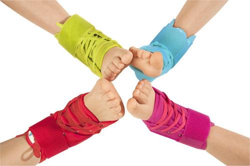 tobillera estabilizadora para niños con barras laterales