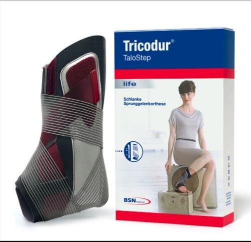 tobillera ortopedica elastica con soportes laterales de gel