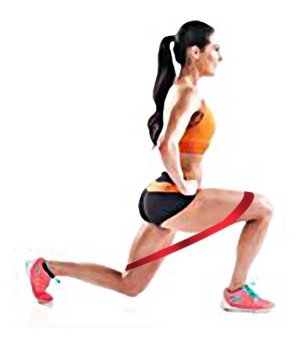 tobilleras banda elástica gimnasia para piernas combo