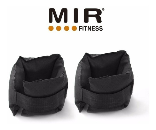 tobilleras con carga de 3 kg - mir - fitness musculación