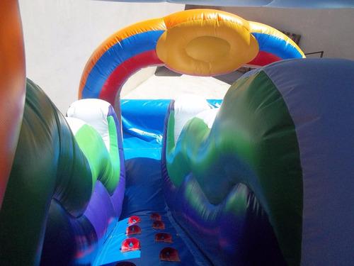 tobogán acuático inflable phineas y ferb