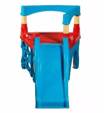 tobogán con trepador para niños - american plastic