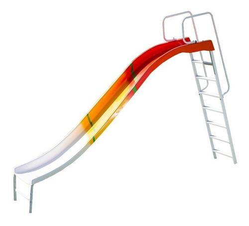 tobogán de fibra 4 escalones