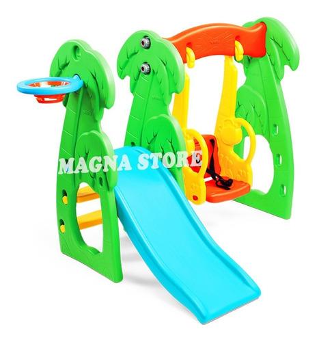 tobogan + hamaca bebe mini parque centro actividades vegui