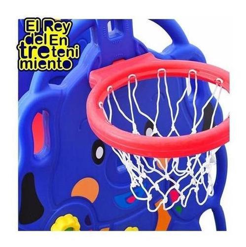 tobogán infantil + hamaca + aro basket+ pelota+ pisos el rey