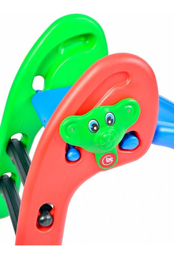 tobogan junior ratoncito 3 niveles plegable planeta juguete