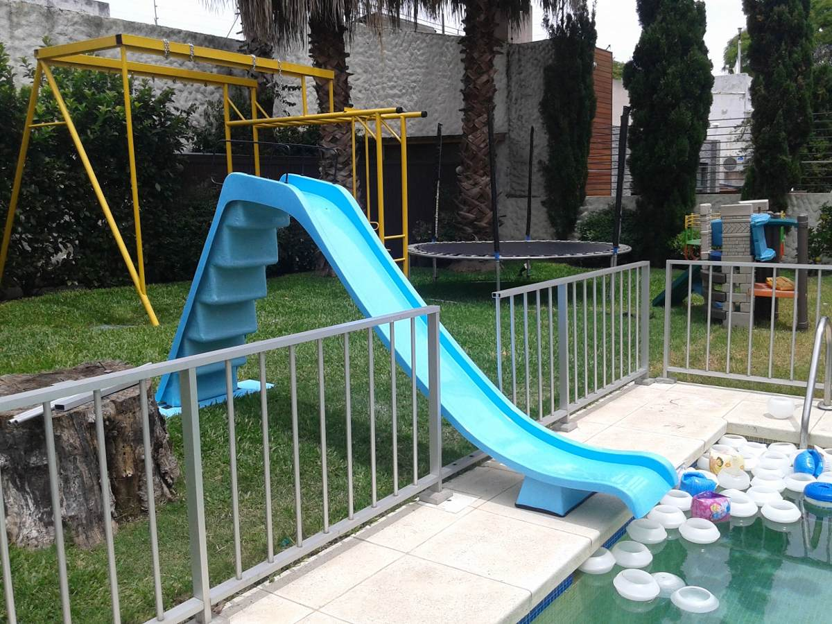 Tobogan para piscina en fibra de vidrio u s 520 00 en - Vidrio para piscinas ...