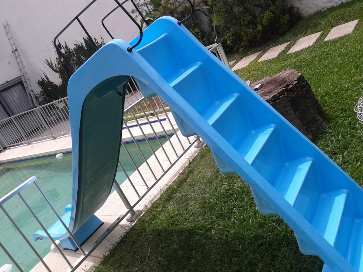 Tobogan para piscina en fibra de vidrio u s 520 00 en - Vidrios para piscinas ...