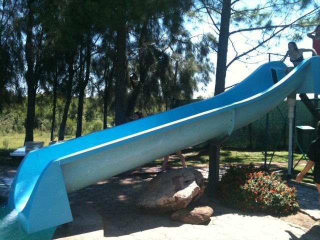 Tobogan para piscina y o parque acu tico en fibra de vidrio u s en mercado libre - Tobogan hinchable para piscina ...