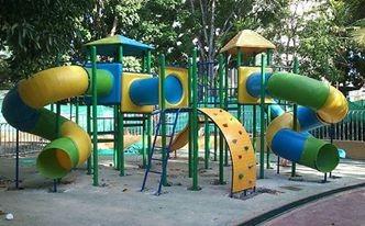 toboganes de fibra de vidrio y parques infantiles