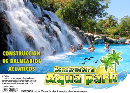 toboganes y parques acuáticos