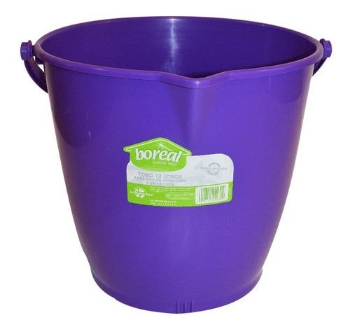 tobos plasticos 12 litros boreal