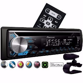 toca cd mp3 pioneer bluetooth mixtrax deh 3980 ipod iphone