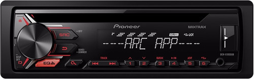 toca cd mp3 pioneer deh-1950ub usb mixtrax 1rca