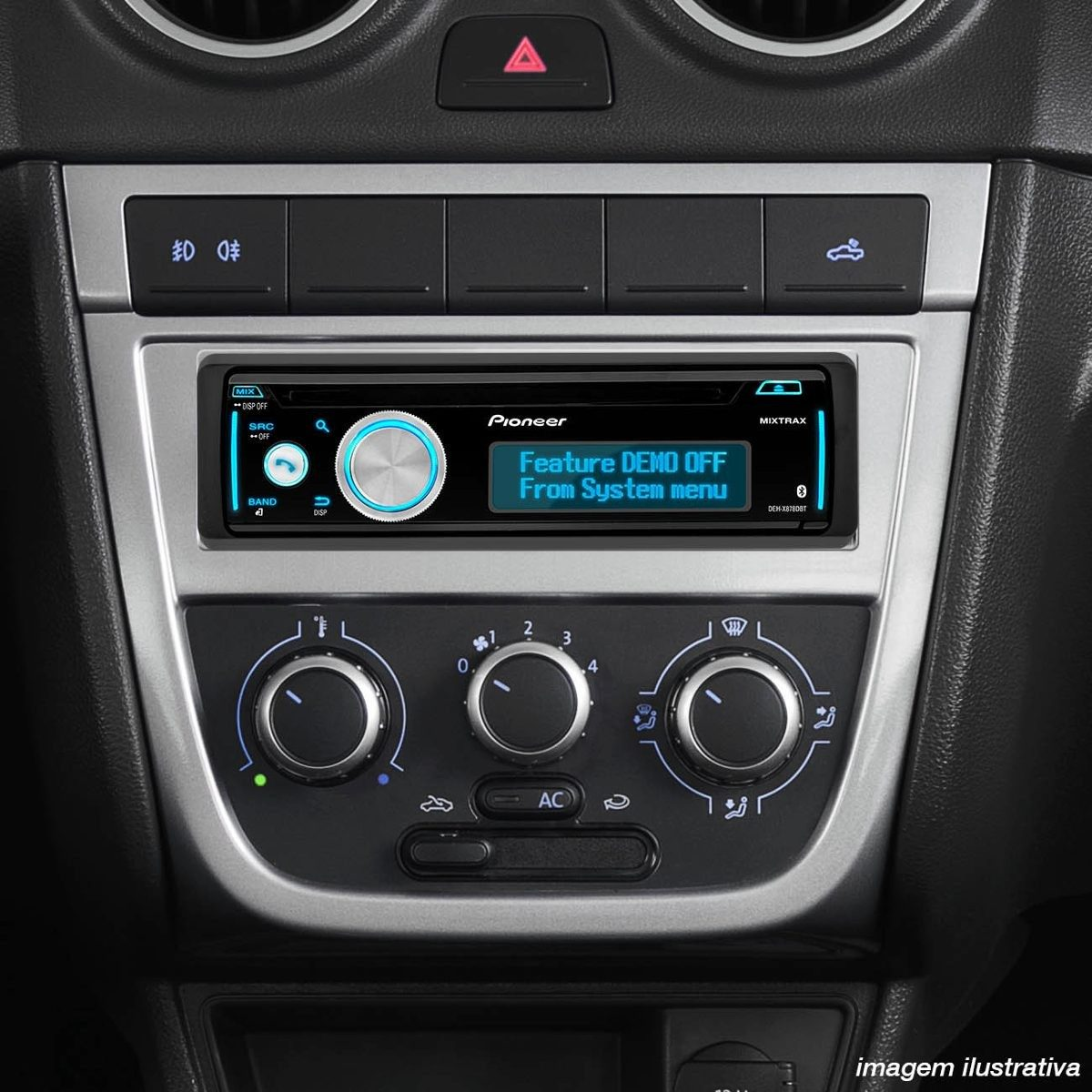 Toca Cd Pioneer Deh 8780bt Mixtrax Bluetooth Ipod Iphone