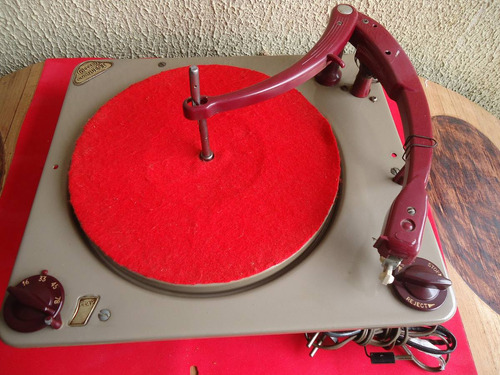 toca disco colaro conquest inglesa para valvula