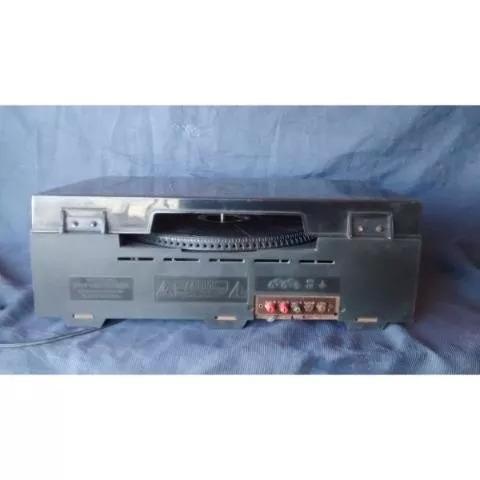 toca disco e gravador tape deck frahm mc 4000 frete grátis