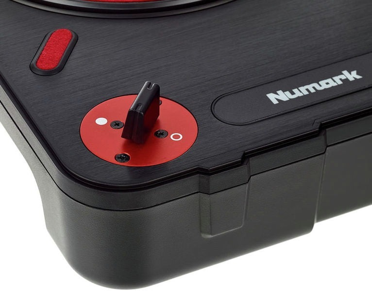 Toca Disco Portátil Numark Pt01 Scratch Switch