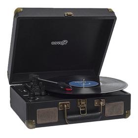 Toca Disco Sonetto Preto Raveo Retrô Bluetooth Gravação
