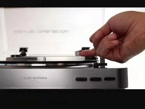 toca disco stereo auto  audio technica at lp60 usb+fonte110v