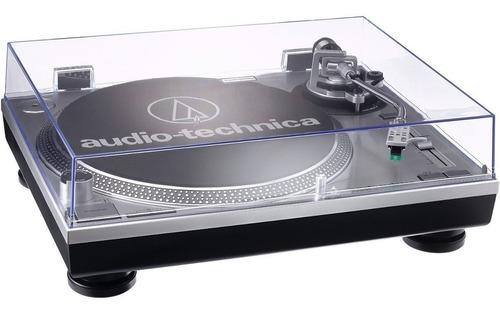 toca discos audio-technica at-lp120 usb directdrive promocao