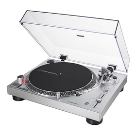 Toca-discos Audio-technica At-lp120xusb-sv Motor Direct-drive Com Interface Analógica Estéreo E Usb - Nfe E Garantia
