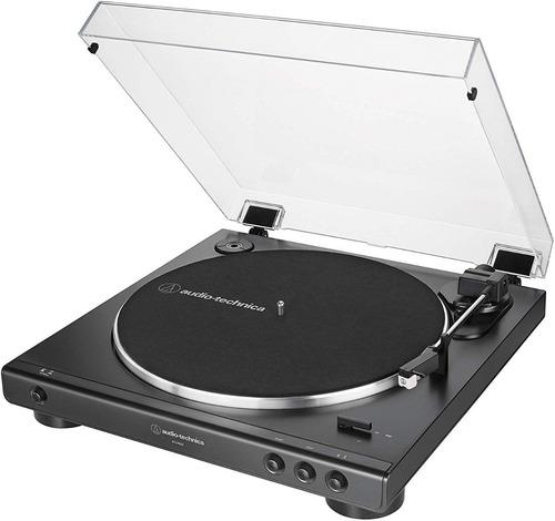 toca-discos audio -technica automático at- lp60x-bk/bivolt