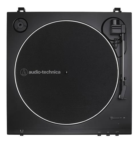 toca-discos audio-technica automático at-lp60xusb-bk preto