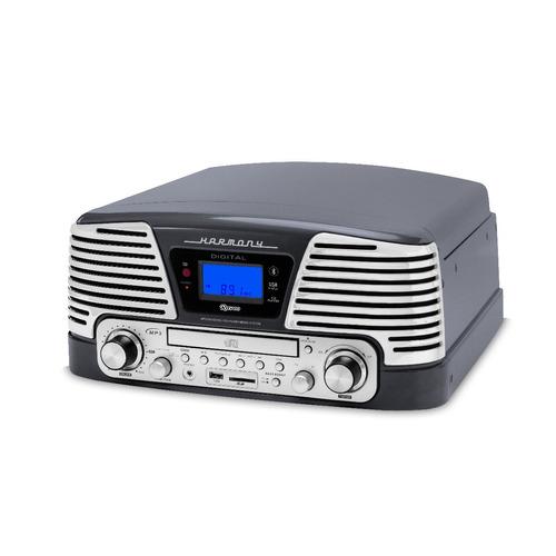toca discos ctx raveo harmony titanium lp/cd/usb/bluetooth