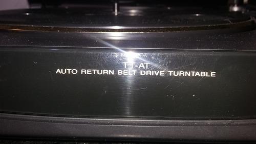 toca discos gradiente belt drive avanti tt-at usado