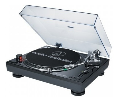 toca-discos profissional audio-technica lp120 direct-drive